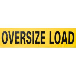 oversize load banner, banner for oversized loads, truck banners