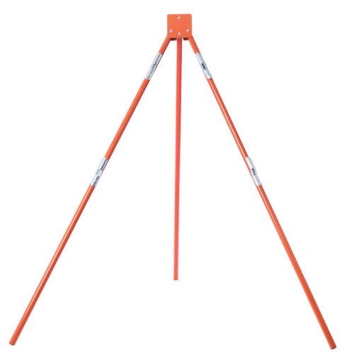 orange, tripod, stand, sign stand