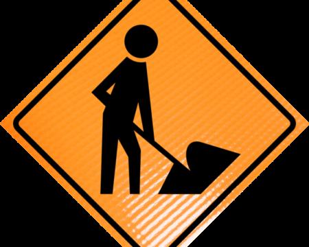worker symbol diamond roll up