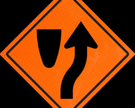 merge vinyl roll up sign orange 1