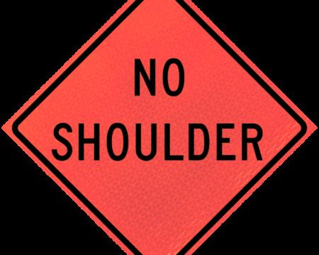 no shoulder deep orange diamond roll up