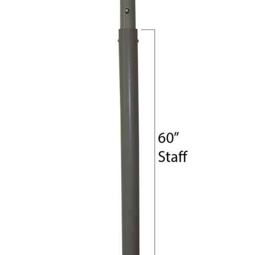 60 inch staff flagger addition