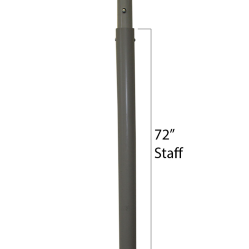 72 inch staff for flagger