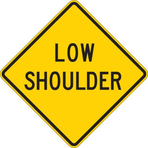 low shoulder diamond yellow