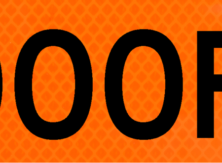 1000 feet bright orange vinyl