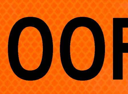 1500 feet bright orange vinyl