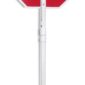 pvc hande for stop sign and flaggers