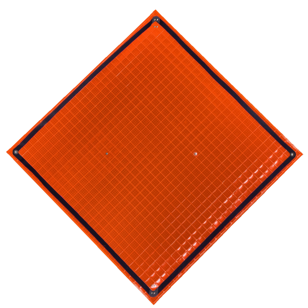 """36"""" super bright roll-up sign for traffic control"""