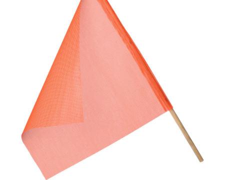 mesh orange warning flag