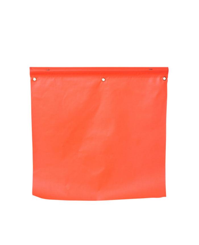 orange vinyl flag
