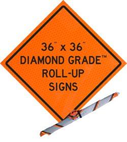 36 x 36 diamond grade roll up