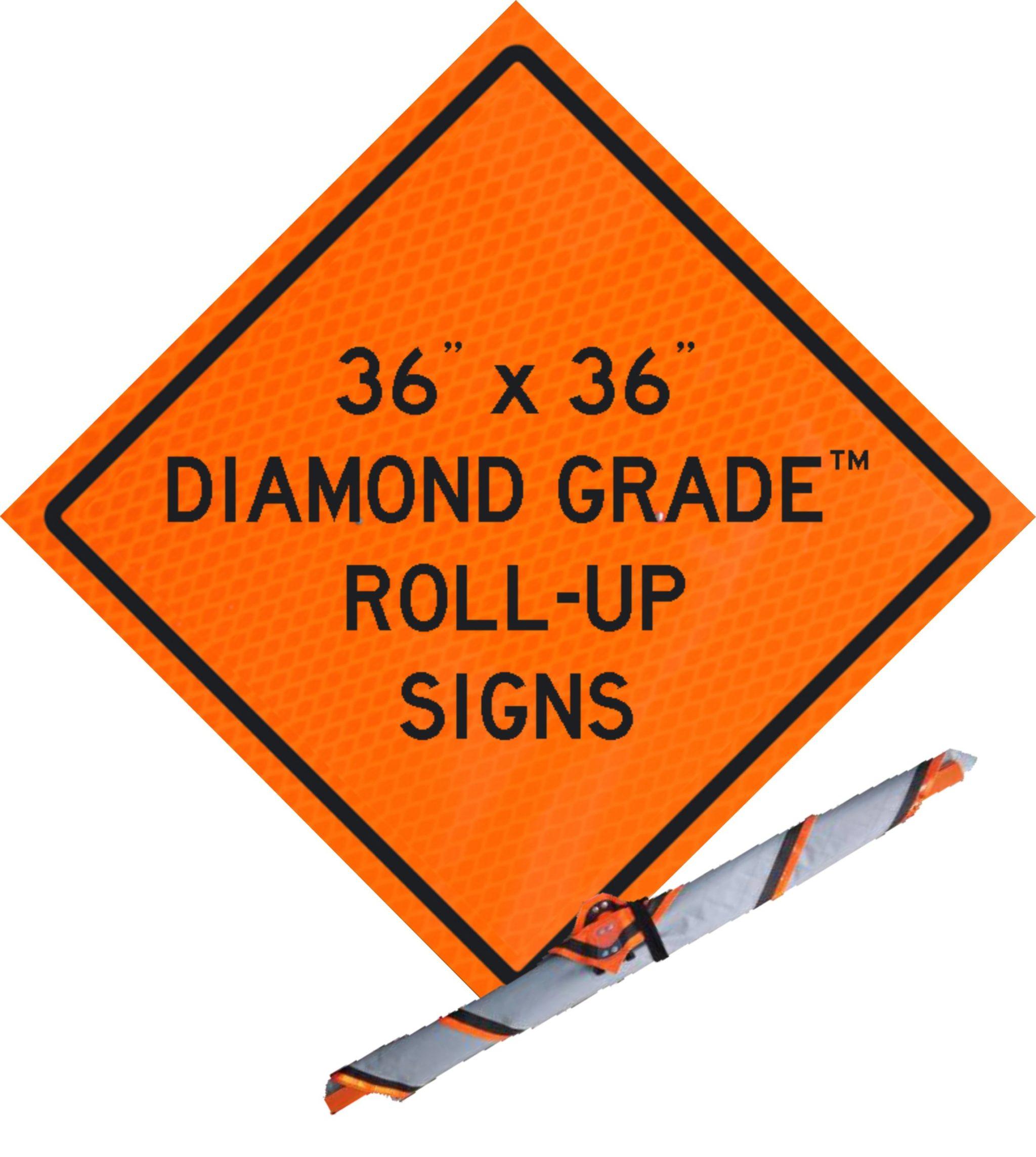 "36"" Roll-Up Diamond Grade™"