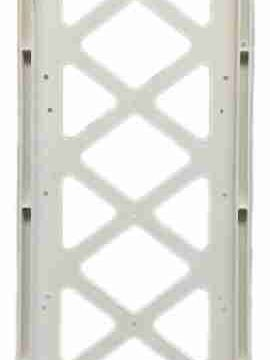 pedestrian crosswalk sign replacement frame, frame for crosswalk sign, pedestrian sign frame,
