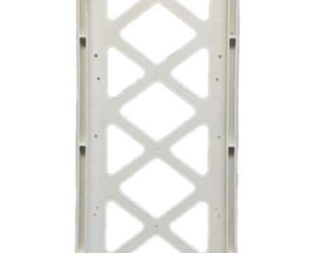 plastic panel crosswalk, plastic crosswalk, replacement crosswalk sign, plastic frame pedestrian, vertical panel frame.
