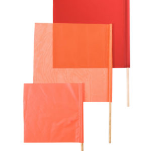 different sized and style flaggers