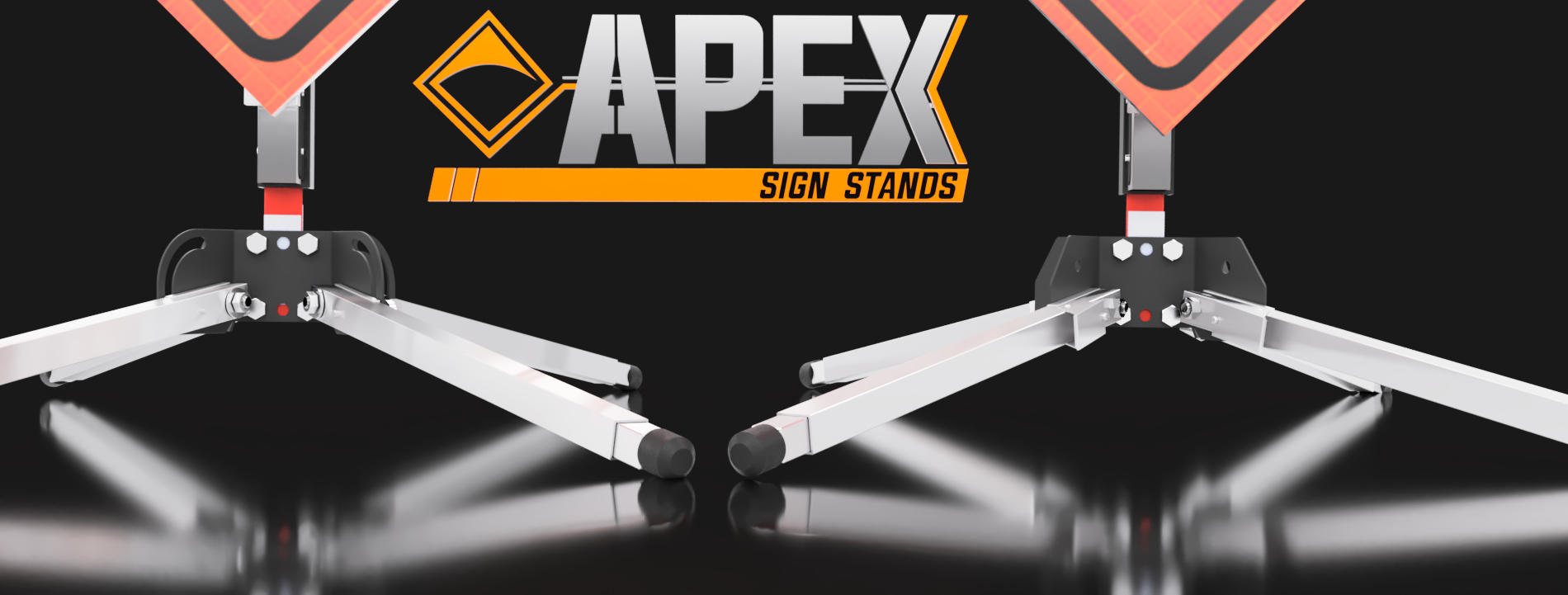 apex sign stands traffic control sign stands