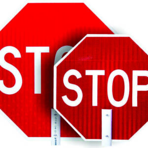 Stop / Slow Paddle Accessories