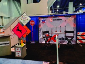 sign and safety trade show traffic
