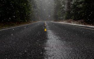 slick roads