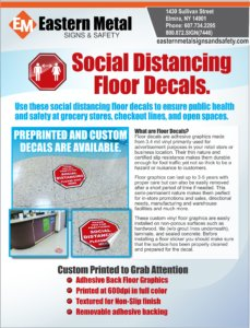 social distance, safety, warehouse, retail floor stickers oralite floor stickers