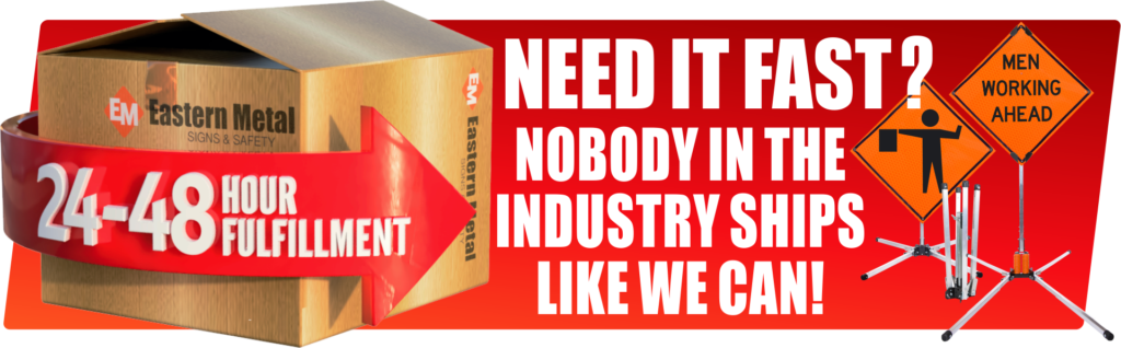 need it fast sign stand industry
