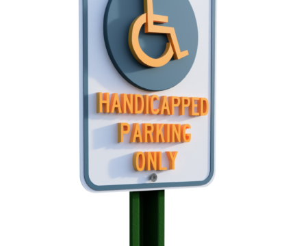 handicapped parking signs, Handicapped signs, wheelchair parking, van parking, handicapped only, ada, disabilities