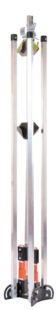 folding sign stand, full size sign stand, metal construction sign holder