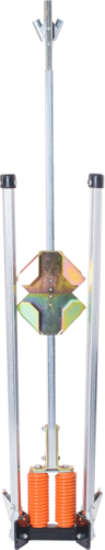 apex recoil sign stands for roll-up signs and rigid signs