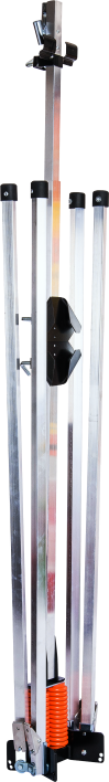 Sign stand dual coil large for traffic control roll-up