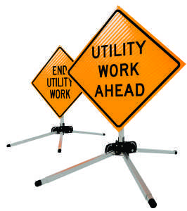 Utility Products safety stands for utility companies